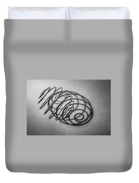 Spiral Shape And Form Duvet Cover