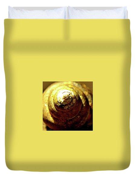 Spiral Shell Duvet Cover