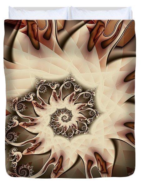 Spiral S'mores Duvet Cover