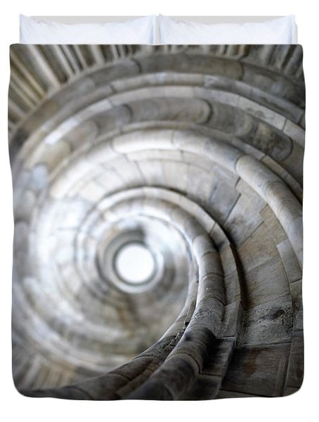 Spiral Staircase Duvet Cover by Falko Follert