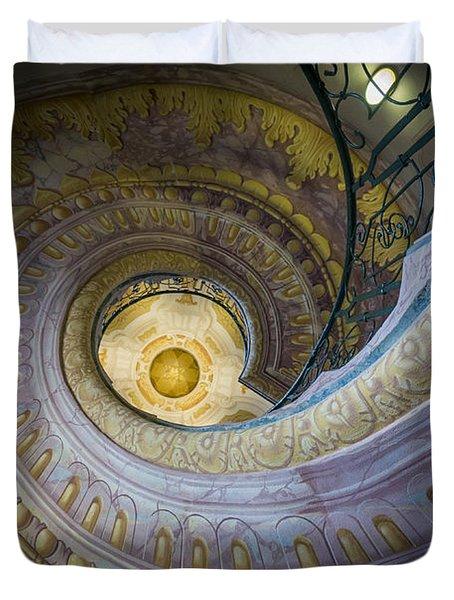 Spiral Staircase Melk Abbey I Duvet Cover