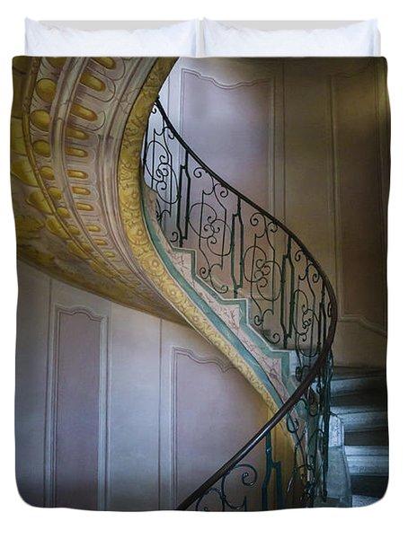 Spiral Staircase Melk Abbey II Duvet Cover