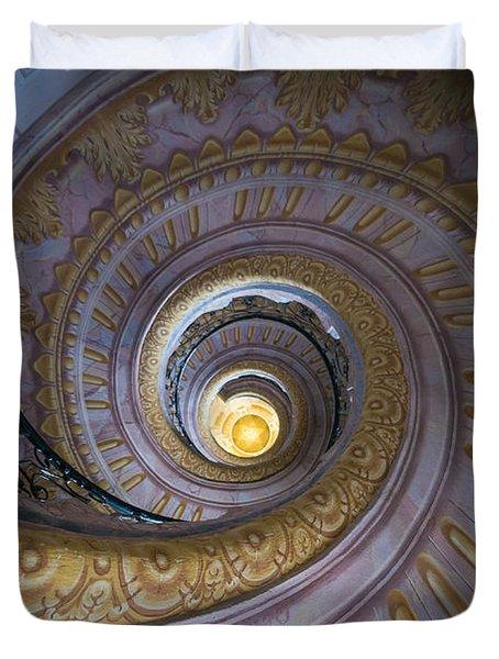 Spiral Staircase Melk Abbey IIi Duvet Cover