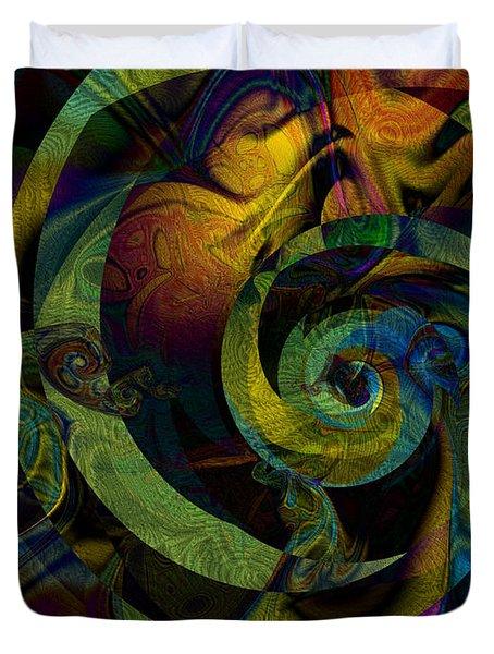 Spiralicious Duvet Cover