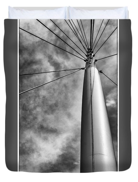 Spire Duvet Cover by Tony Locke