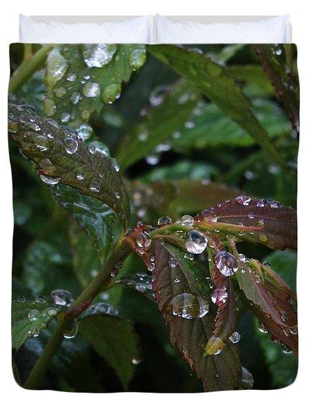 Spirea Rain Duvet Cover