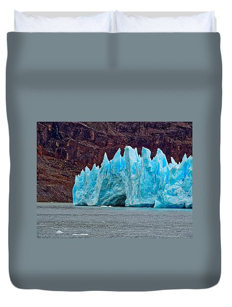 Spires Of Blue Duvet Cover