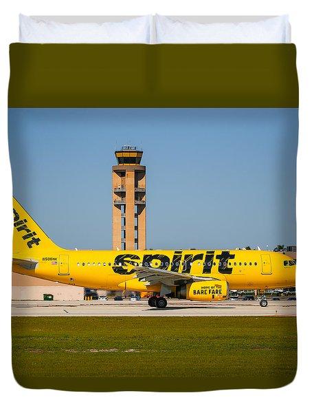 Spirit Airline Duvet Cover