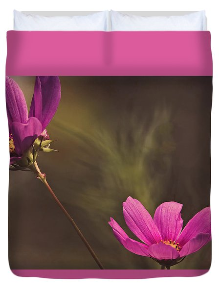 Spirit Among The Flowers Duvet Cover