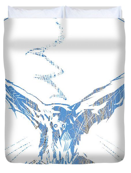 Spirit Animal . Crow Duvet Cover