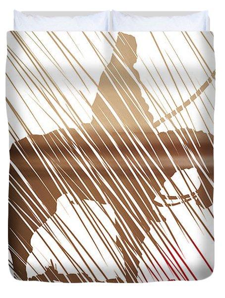 Spirit Animal . War Horse  Duvet Cover