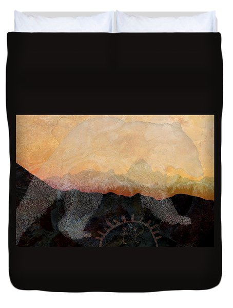 Spirit Bear # 6 Duvet Cover