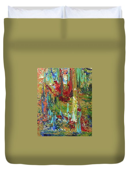 Spirit Dance Duvet Cover