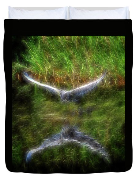 Spirit Garden 7 Duvet Cover by William Horden