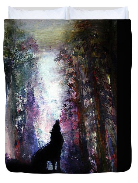 Spirit Guide Duvet Cover