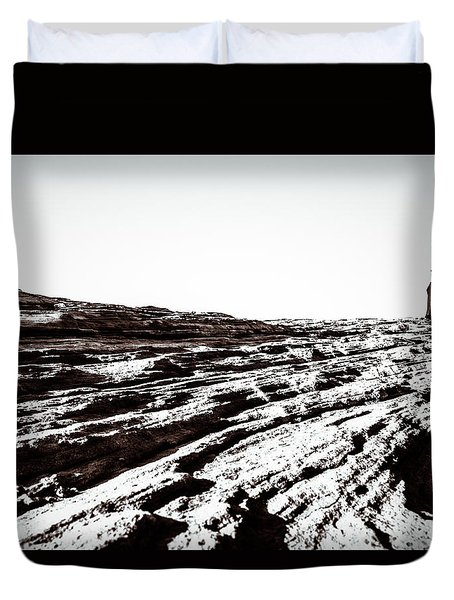 Duvet Cover featuring the photograph Spirit II by Wade Brooks