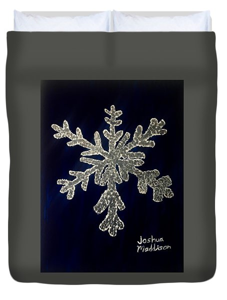 Snow Day Duvet Cover by Joshua Maddison