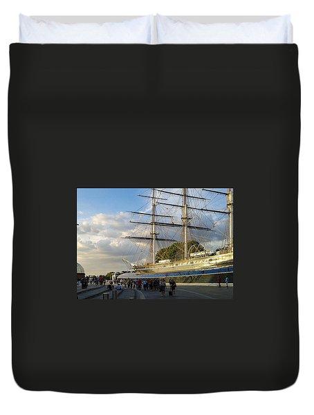 Spirit Of Greenwich Duvet Cover
