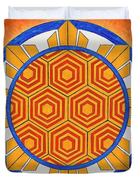 Spirit Of Kapwa/espiritu De La Solidaridad Duvet Cover