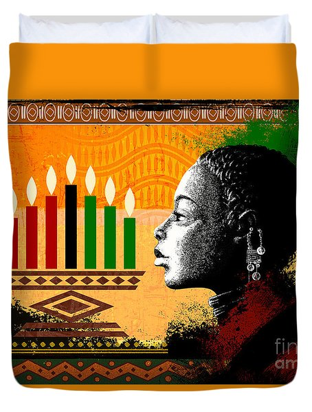 Spirit Of Kwanzaa Duvet Cover