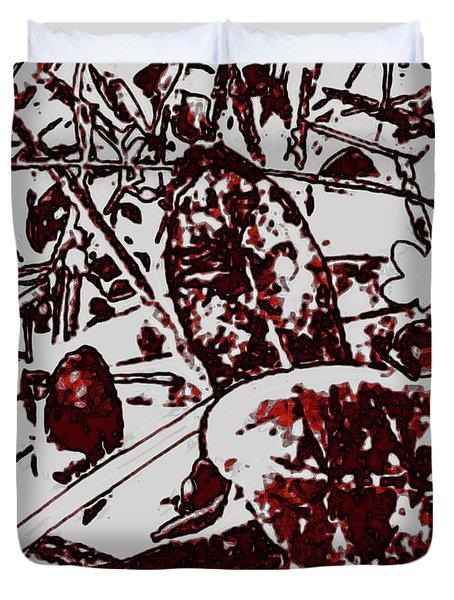Spirit Of Leaves Duvet Cover
