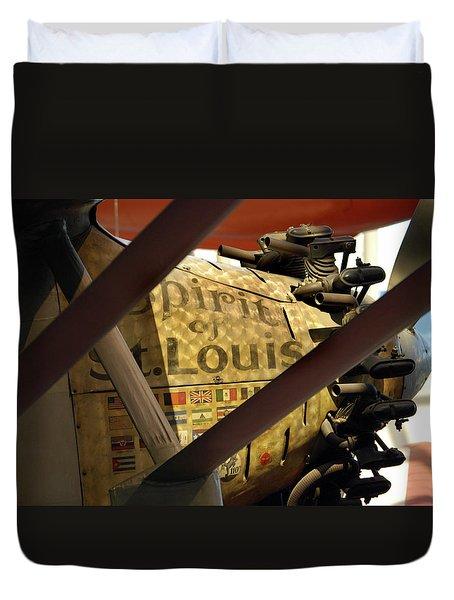 Spirit Of St Louis At Smithsonian Duvet Cover