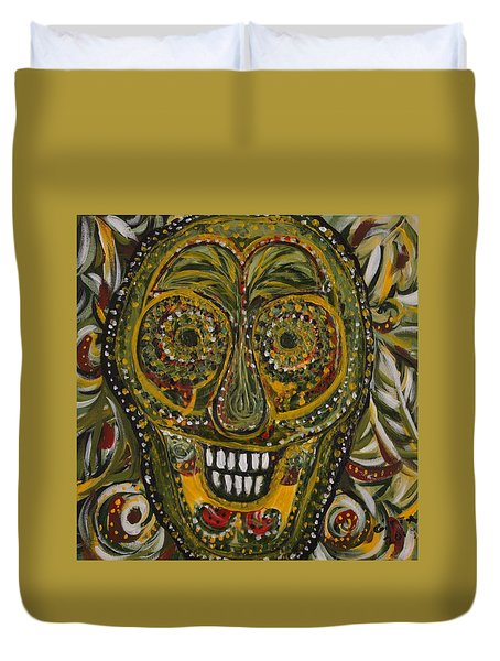 Spirit Of The Jungle Duvet Cover