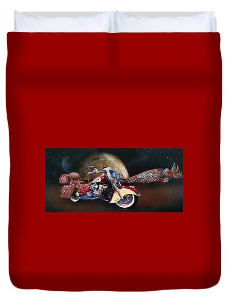 Spirit Of The Wild West Duvet Cover