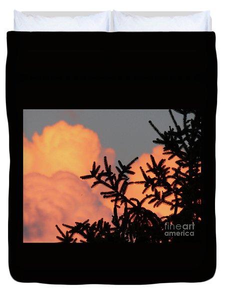 Spirit Pines Duvet Cover