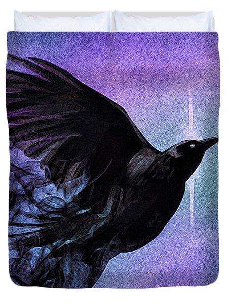 Spirit Raven Duvet Cover