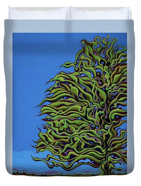 Spirit Tree Dawning Duvet Cover