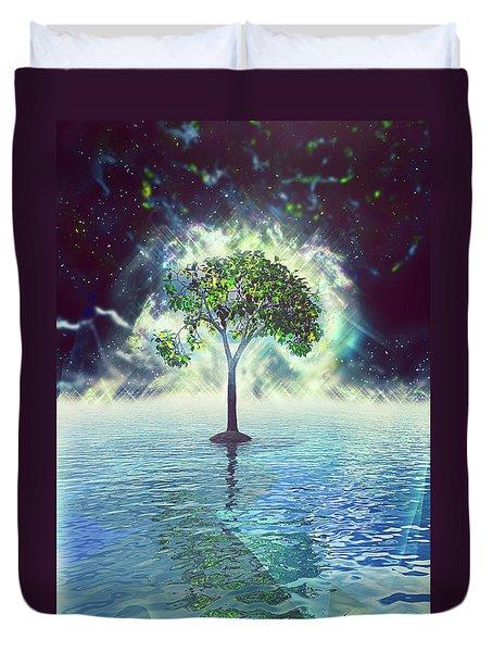 Spirit Tree Duvet Cover