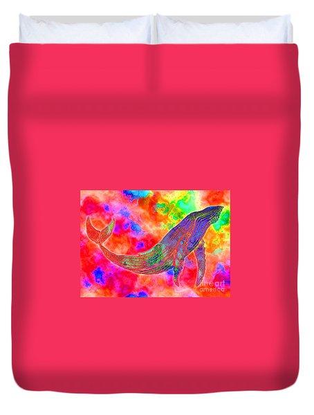 Spirit Whale Duvet Cover