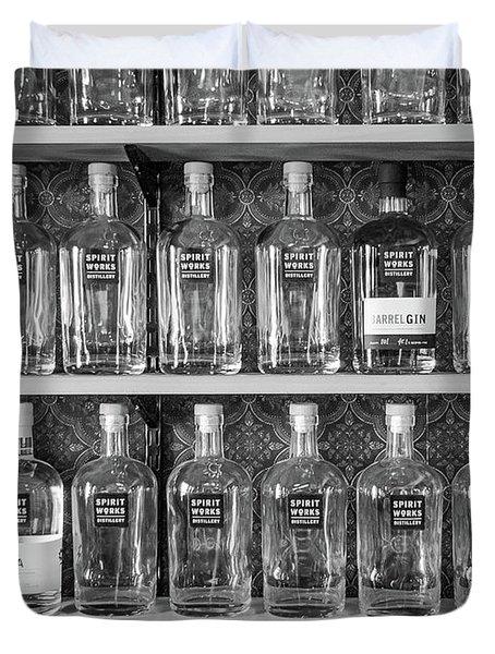 Spirit World Bottles Duvet Cover