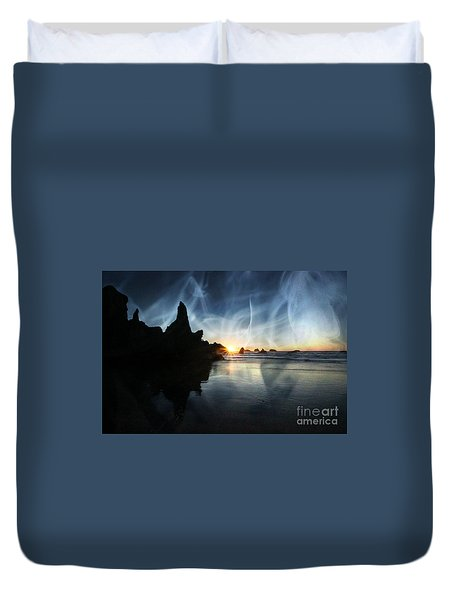 Spirits At Sunset Duvet Cover