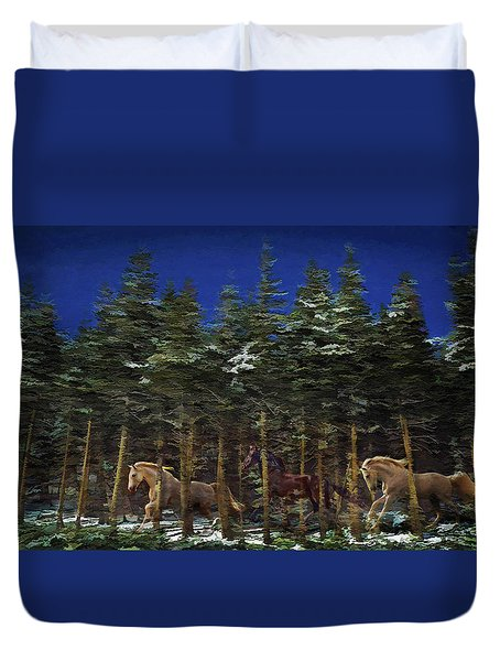 Spirits Of The Forest Duvet Cover