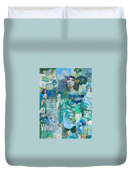Spirits Of The Sea Duvet Cover