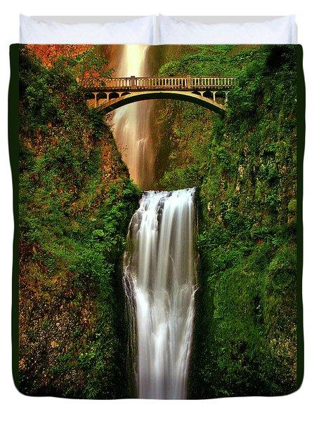 Spiritual Falls Duvet Cover