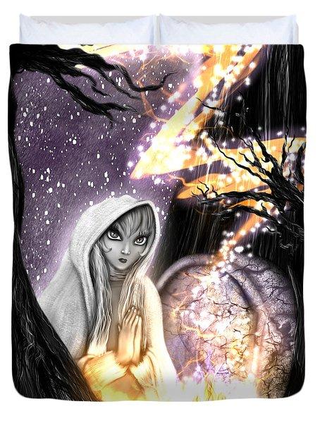 Spiritual Ghost Fantasy Art Duvet Cover