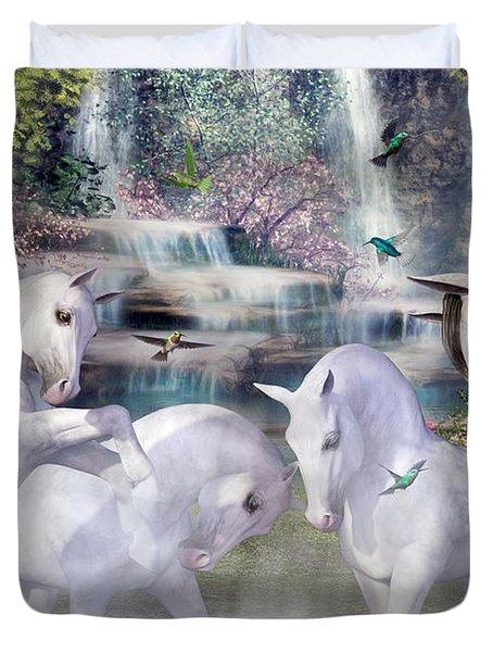 Spiritual Harmony Duvet Cover