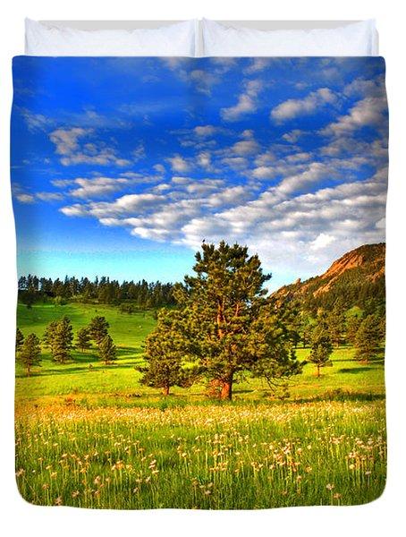 Spiritual Sky Duvet Cover by Scott Mahon