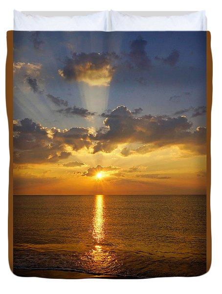 Spiritual Sunrise Duvet Cover