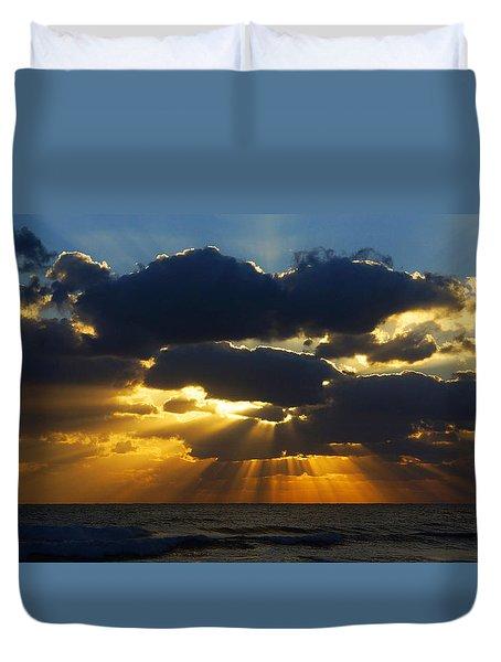 Spiritually Uplifting Sunrise Duvet Cover