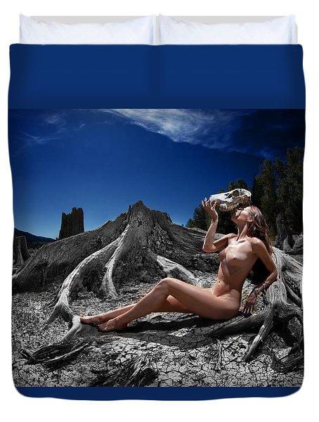 Spiritus Mundi Duvet Cover by Dario Infini