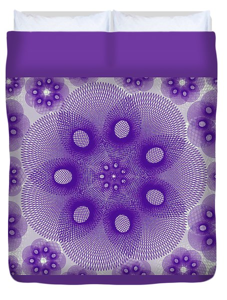 Spiro Light Duvet Cover