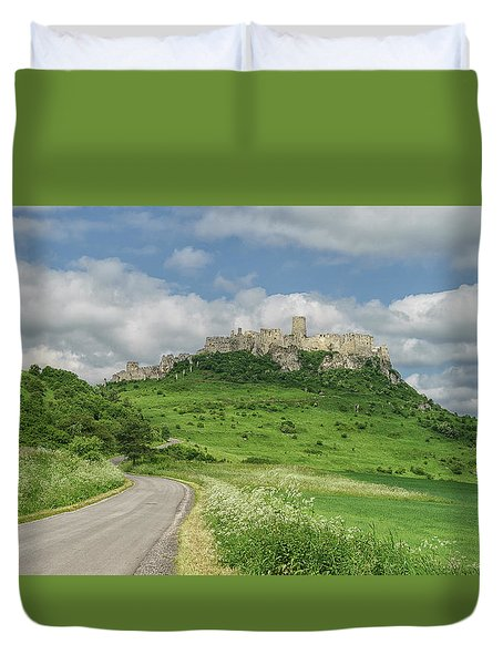 Spish Castle Duvet Cover