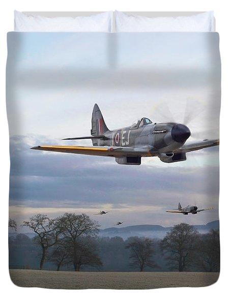 Spitfire - Interdictor Mission Duvet Cover