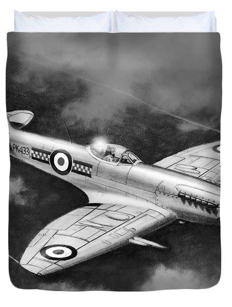 Spitfire Mark 22 Duvet Cover