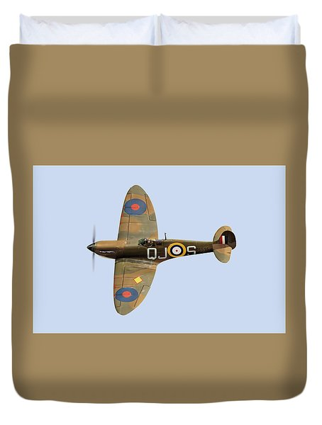 Spitfire Mk 1 R6596 Qj-s Duvet Cover
