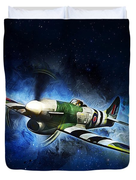 Hawker Typhoon Duvet Cover